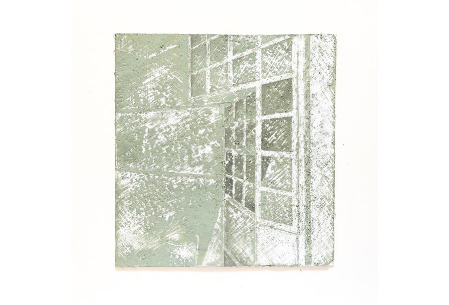 4 - Acrilico, Cera e Intonaco su Carta (2014)
