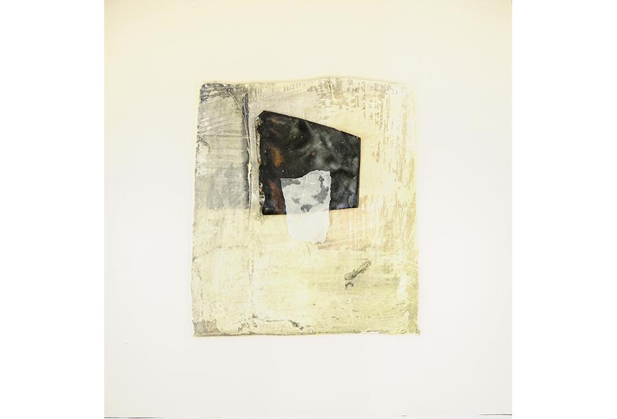 7 - Tecnica Mista - Tela e Ferro su Carta (2014)