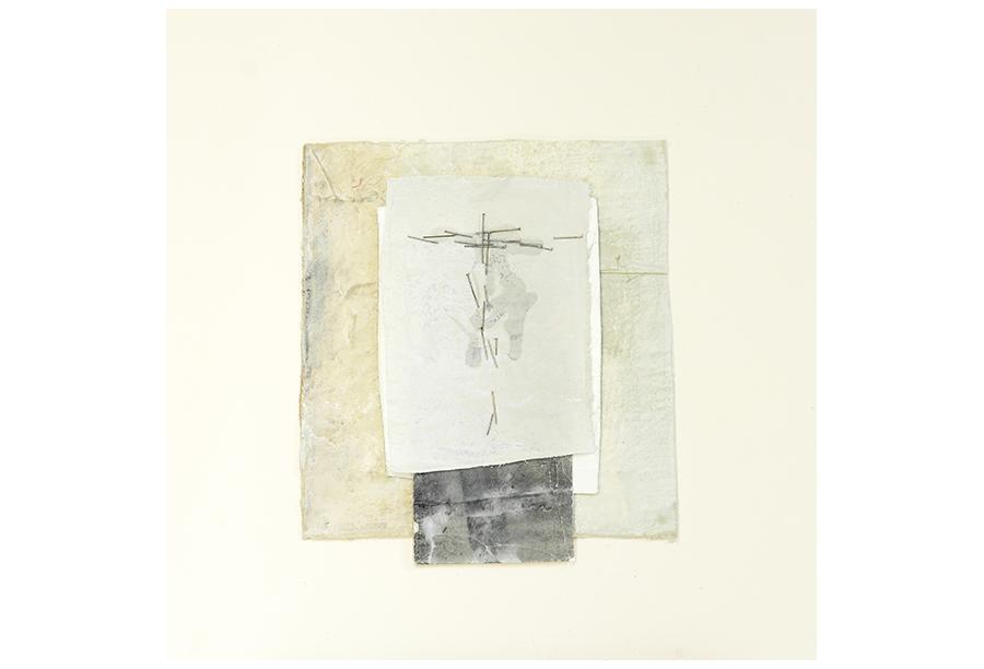 3 - Tecnica Mista - Tela e Ferro su Carta (2014)