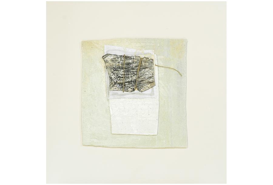 4 - Tecnica Mista - Tela e Ferro su Carta (2014)