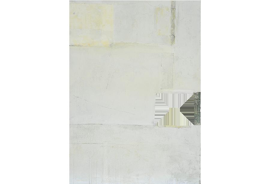 1 - Acrilico, Cera e Tela su Intonaco (2014)
