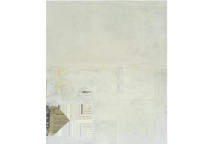 3 - Acrilico, Cera e Tela su Intonaco (2014)