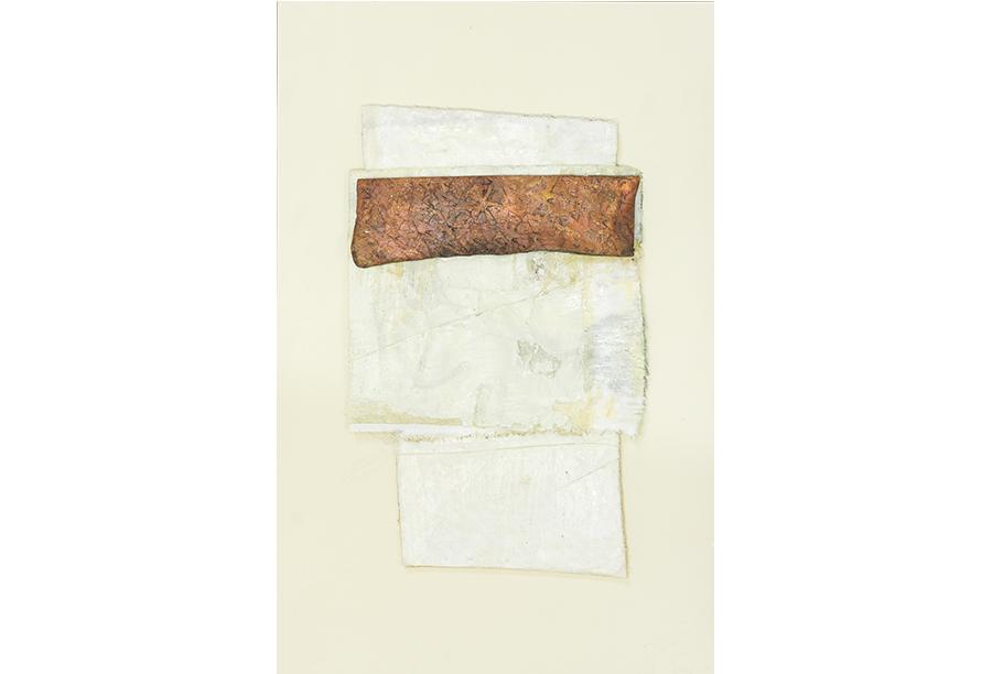 9 - Tecnica Mista - Tela e Rame su Carta (2014)