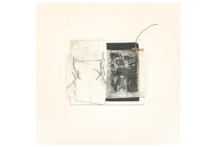 2 - Tecnica Mista - Tela e Ferro su Carta (2014)