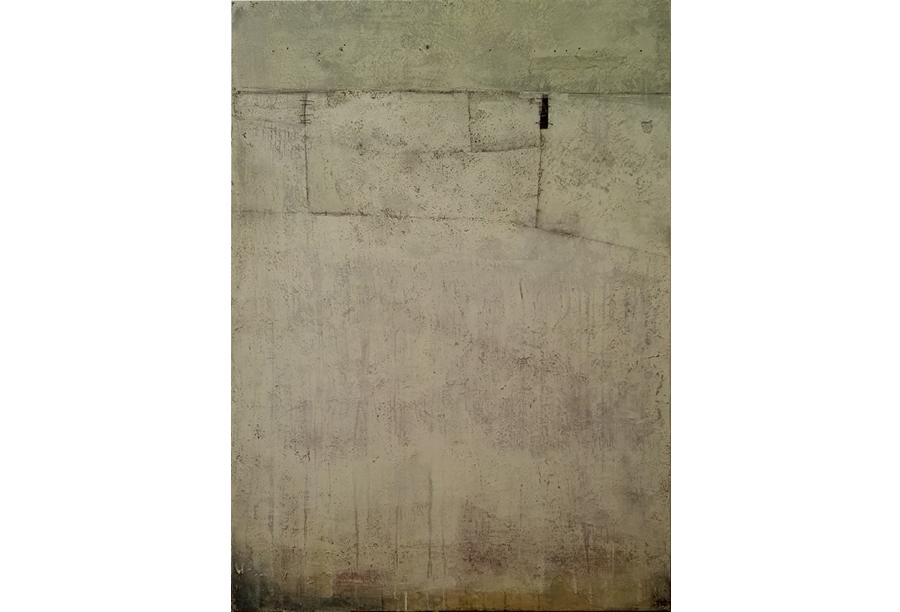 Tecnica mista - Acrilico, intonaco e cera su tela (2016)