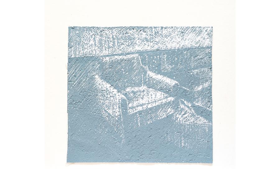 3 - Acrilico, Cera e Intonaco su Carta (2014)