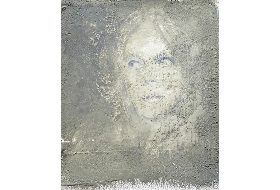 5 - Acrilico, Cera e Intonaco su Carta (2014)