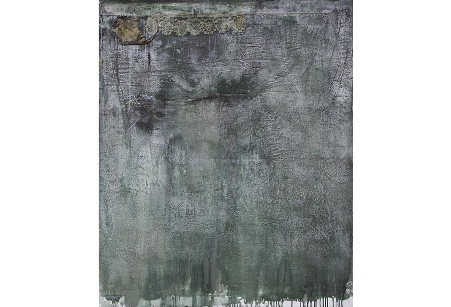 4 - Tecnica mista - Acrilico e Cera su Intonaco (2012)