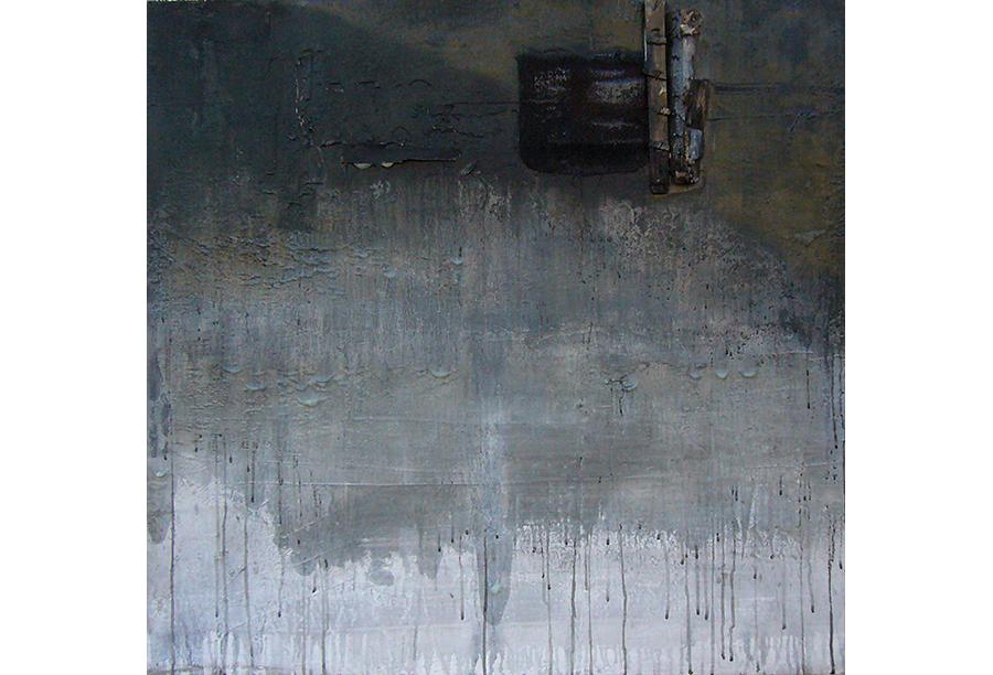 3 - Tecnica mista - Acrilico e Cera su Intonaco (2012)