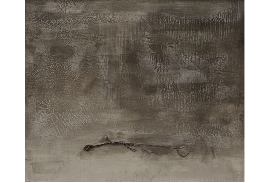 2 - Tecnica mista - Acrilico e Cera su Intonaco (2012)